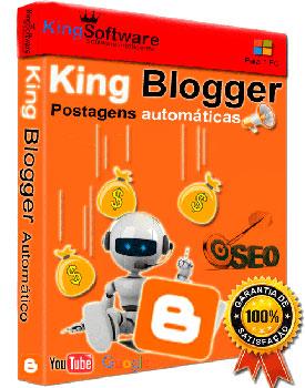 King Blogger postagens automáticas