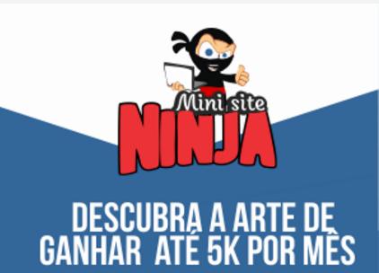 Curso Mini Site Ninja → NÃO COMPRE antes de ler este artigo!